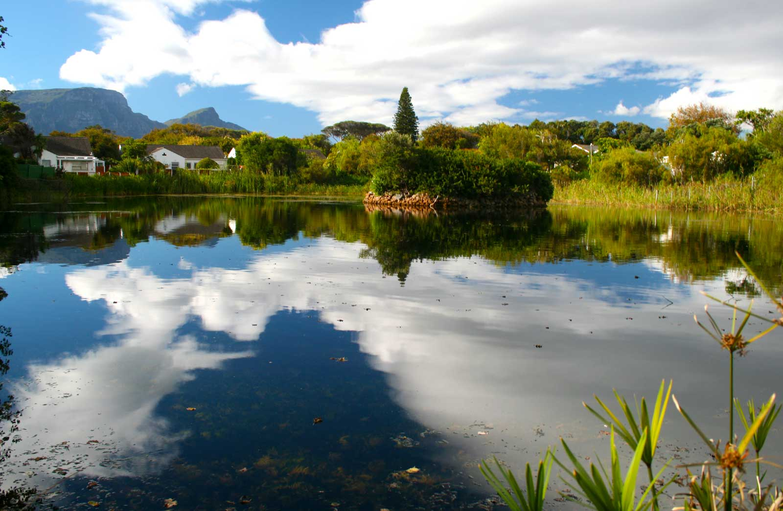 view of Die Oog from the water